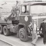 Gamle dage - Scania - Heine Thoregaards Køreskole