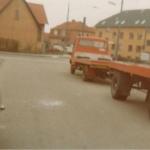 Rød bil med påhæng - Heine Thoregaards Køreskole
