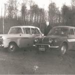 To ældre skolevogne - Heine Thoregaards Køreskole