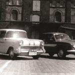 Skolevognene i gamle dage - Heine Thoregaards Køreskole