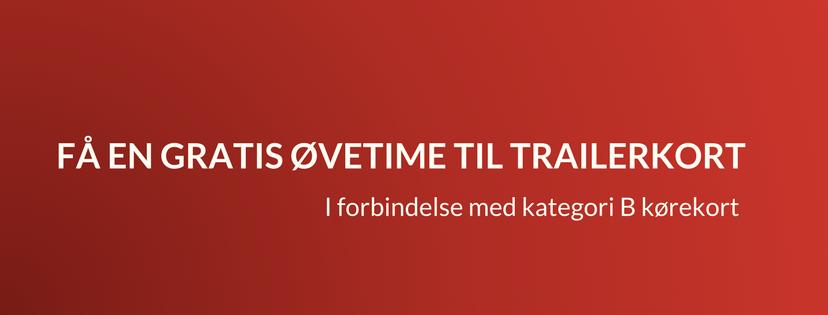 Trailerkort kørekort - Heine Thoergaards Køreskole